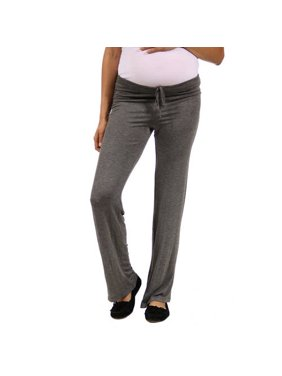 90a577660e63a Product Image Women's Draw String Maternity Plus Narrow Pants