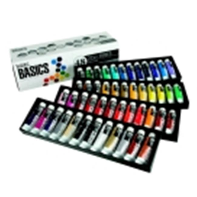 Liquitex Basics Value Acrylic Paint Set - Assorted Colors, Set - 36