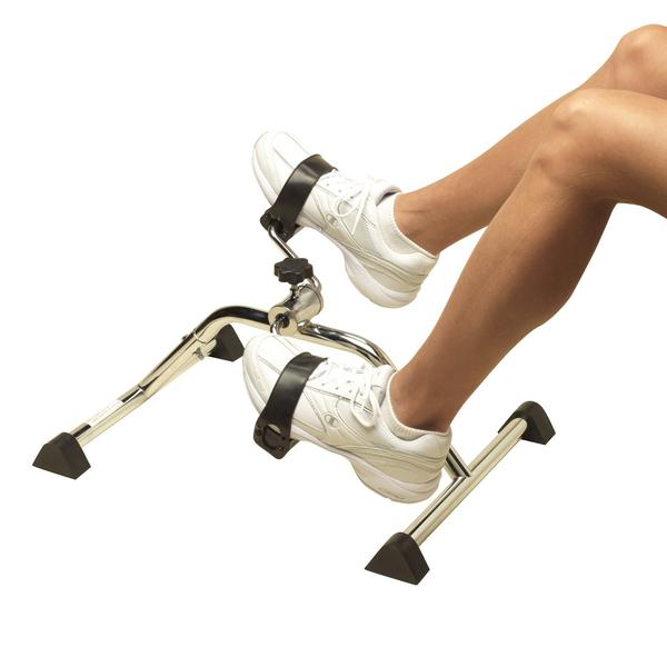 PCP Pedal Exerciser, Chrome,