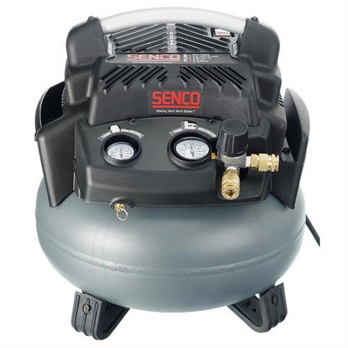 Factory-Reconditioned SENCO PC1280R 1.5 HP 6 Gallon Pancake Air Compressor (Refurbished)