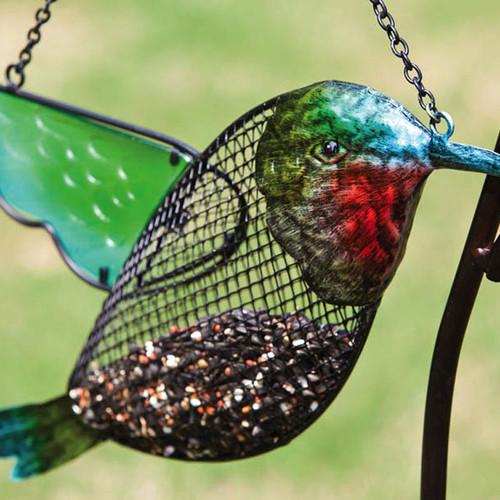 Evergreen Flag & Garden Hummingbird Bird Feeder