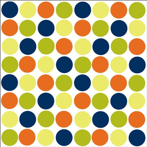 Lots Of Dots Blue Blox Decals