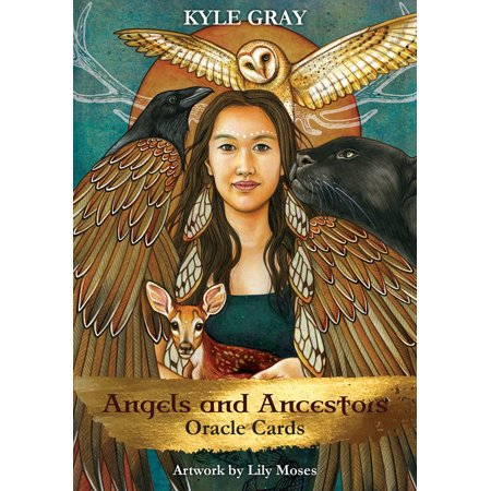 Angels and Ancestors Oracle Cards : A 55-Card Deck and
