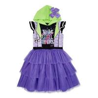 JoJo Siwa Exclusive Girls Cosplay Dress with Bow on Hood, Sizes 4-16