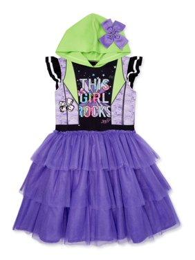 Jojo Siwa Exclusive Cosplay Hooded Tutu Dress, Sizes 4-16
