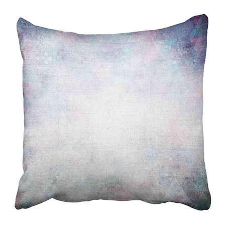 BOSDECO Beige Modern Grunge Blue Abstract Age Ancient Antique Artistic Back Bright Pillowcase Pillow Cover 18x18 inch - image 1 de 1
