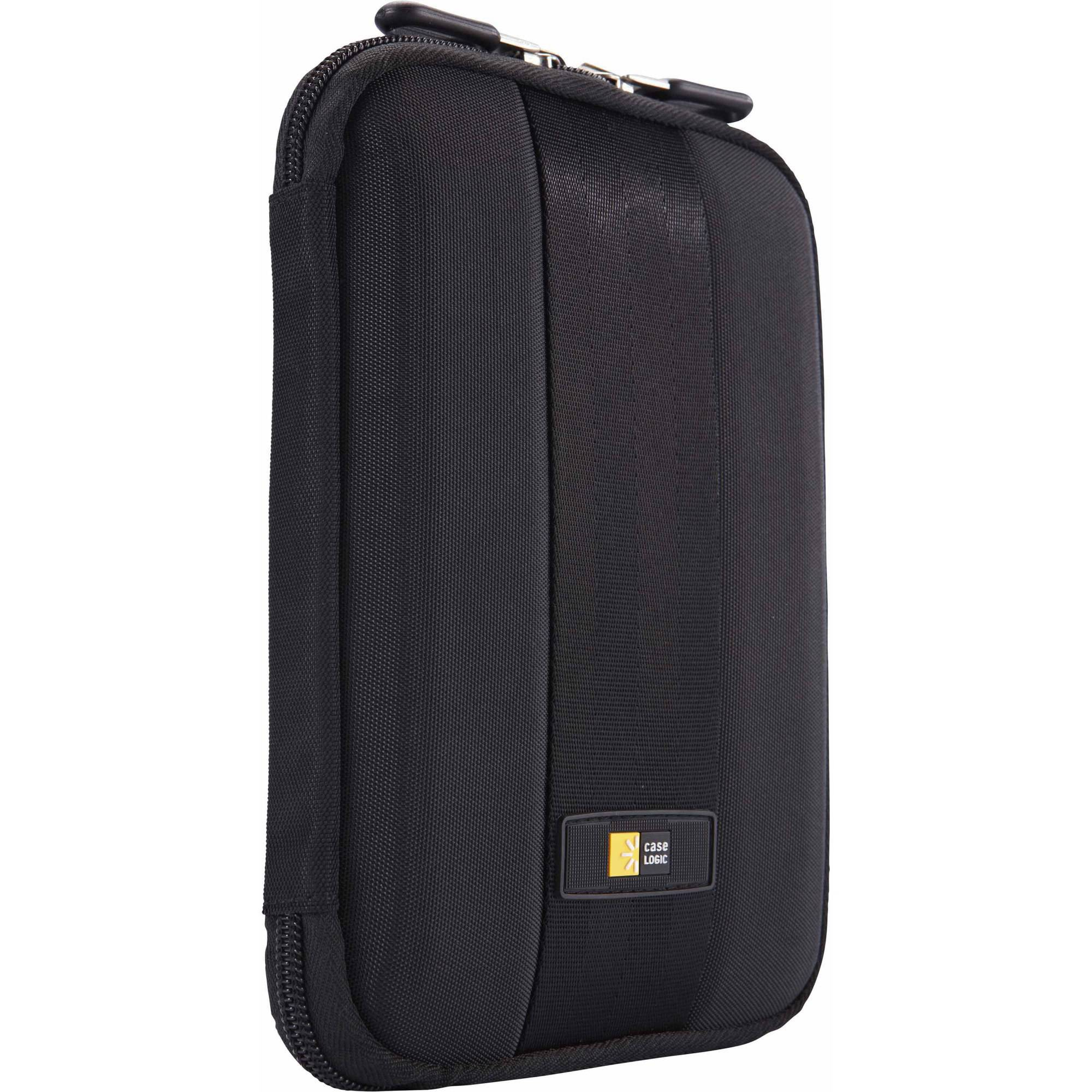 """Case Logic QTS-207 Protective Tablet Case with Kickstand and In-Case Viewing, 7"""" Tablet, Black"""