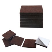 """10pcs Felt Furniture Pads Square 3/4"""" Floor Protector for Chair Legs Feet"""