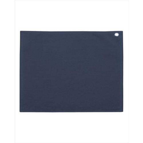 Velour Hemmed Towel with Corner Grommet /& Hook C1518GH Carmel Towel Company