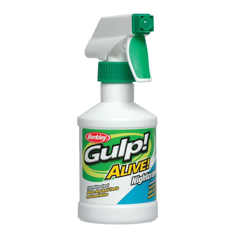 Berkley Gulp! Alive! Spray Attractant Nightcrawler, 8 oz Spray Bottle