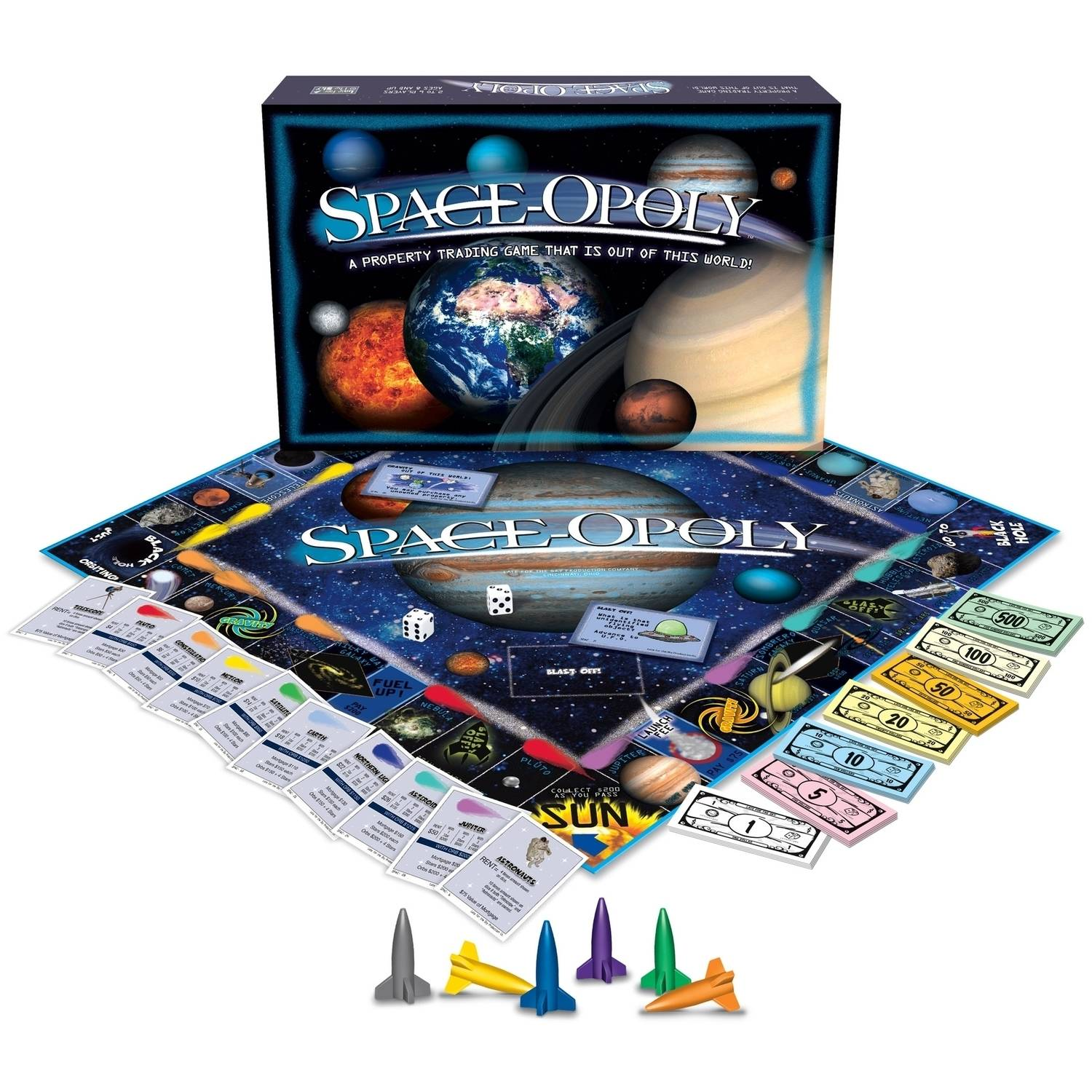 Late for the Sky Space-opoly Game