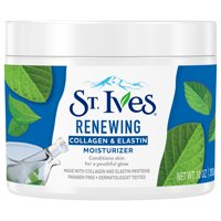 St. Ives Collagen Elastin Paraben free and Non Comedogenic, Face Moisturizer for Dry Skin, 10 oz
