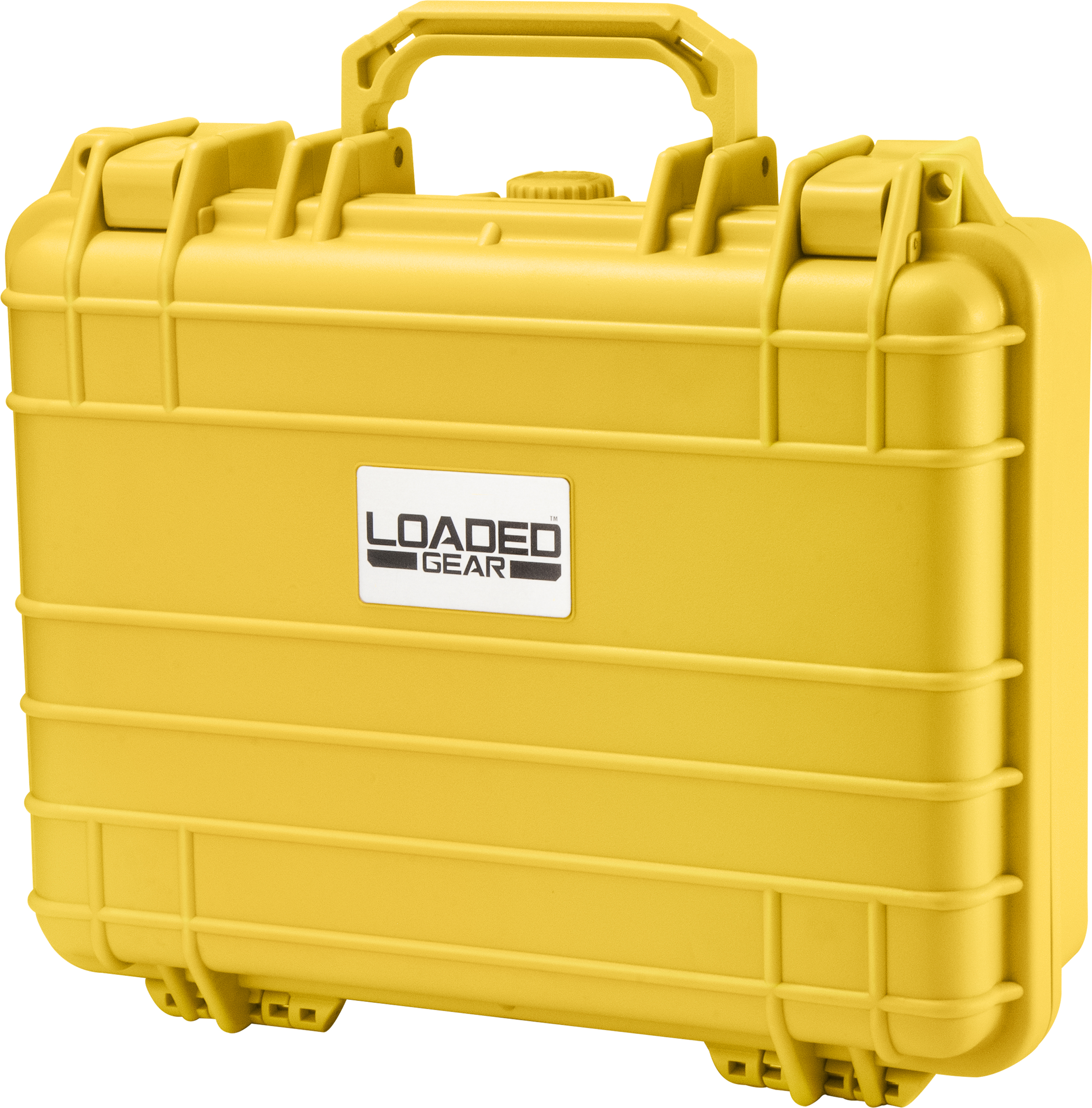 HD-200 WT Protective Hard Case w/ Foam, Yellow
