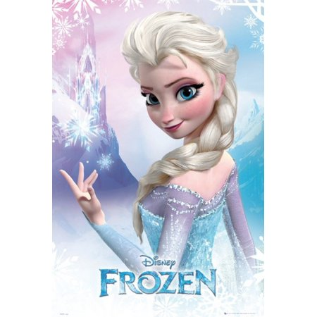 Disney Frozen - Elsa Poster Poster Print](Frozen Poster)