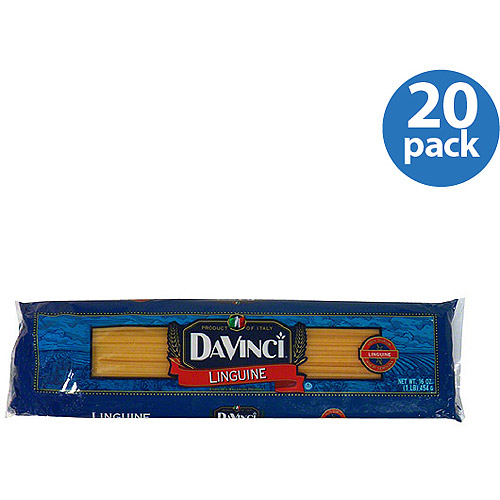 DaVinci Linguine, 16 oz, (Pack of 20)