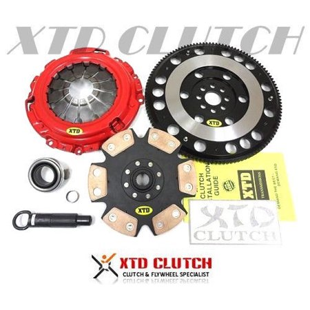 XTD STAGE 4 EXTREME CLUTCH & RACE FLYWHEEL KIT 2002-2006 RSX / 2002-2015 CIVIC