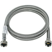 Certified Appliance Accessories WM48SS Braided Stainless Steel Washing Machine Hose, 4ft