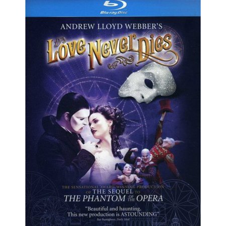Andrew Lloyd Webbers Love Never Dies  Blu Ray   Widescreen