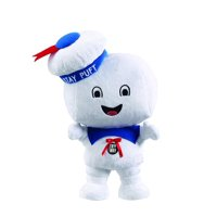 """Ghostbusters Happy Stay Puft Marshmallow Man 15"""" Talking Plush"""