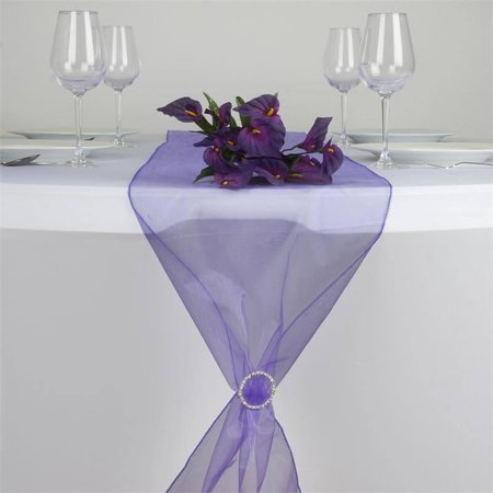 - efavormart premium organza table top runner for weddings birthday party banquets decor fit rectangle and round table