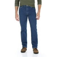 Wrangler Men's Regular Fit Jeans with Comfort Flex Waistband