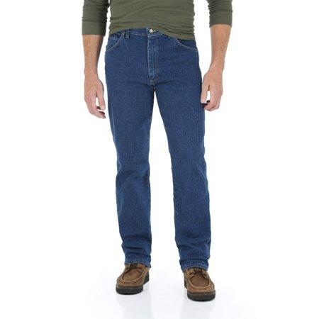 Wrangler Men's Regular Fit Jean with Comfort Flex Waistband ()