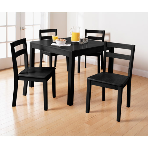 Small dining room sets walmart 28 images weni7 blk lc for Dining room sets walmart