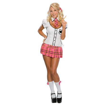 Adult Naughty School Girl Costume Rubies 888608 - Naught School Girls