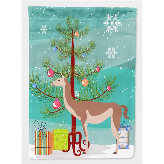 Carolines Treasures BB9288CHF Guanaco Christmas Flag - Canvas House Size - image 1 of 1