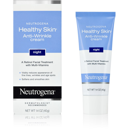 Neutrogena Cream Healthy Skin Anti-Wrinkle Night Cream, 1.4 oz