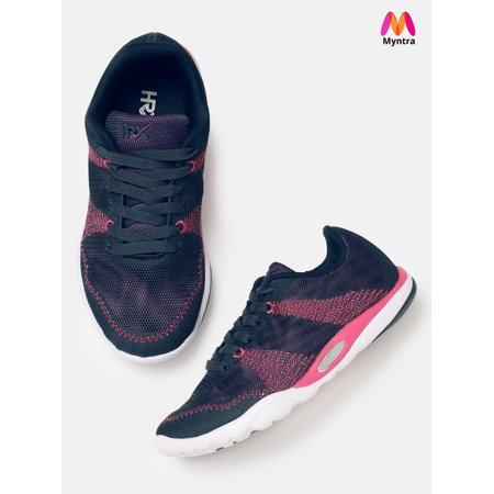 hot sale online 79dfd 8f321 HRX by Hrithik Roshan Women Navy Blue Running Shoes | Walmart Canada