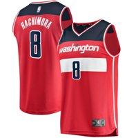 Rui Hachimura Washington Wizards Fanatics Branded Fast Break Replica Jersey Red - Icon Edition