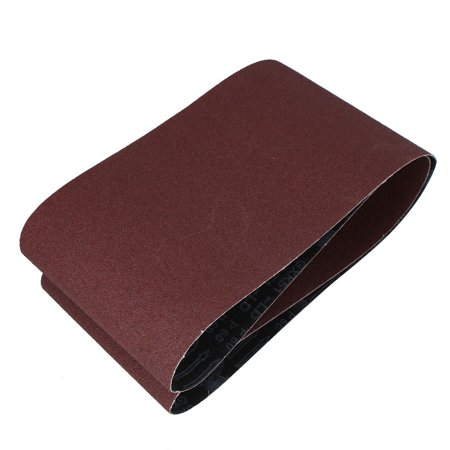 Unique Bargains Woodworking 1520mmx200mm 60 Grit Abrasive Sanding Belt