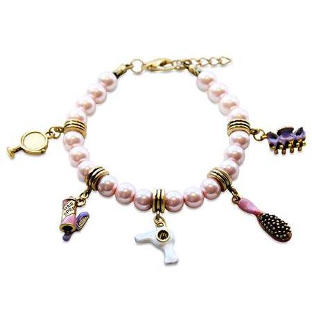 Beautician Charm Bracelet in Gold - image 1 de 1