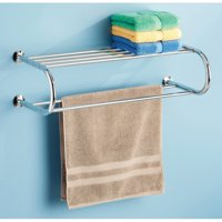 Whitmor Shelf and Towel Rack Chrome
