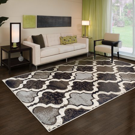 Superior Modern Viking Collection with 8mm Pile and Jute Backing, Moisture Resistant and Anti-Static Indoor Area Rug