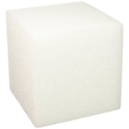 Styrofoam Cube 4.9 Inch x 4.9 Inch x 4.9 Inch Cube White, Styrofoam Brand Trusted by Customers for Over Sixty Years By FloraCraft](Styrofoam Cube)