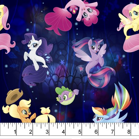 My Little Pony Faraway Adventures Fabric by the Yard
