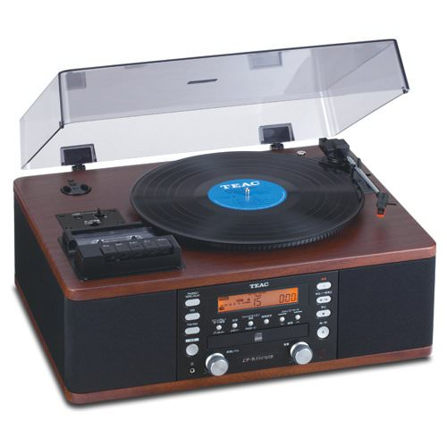 CERTIFIED REFURBISHED Teac LPR550-USB CD Recorder with Cassette Turntable by TEAC