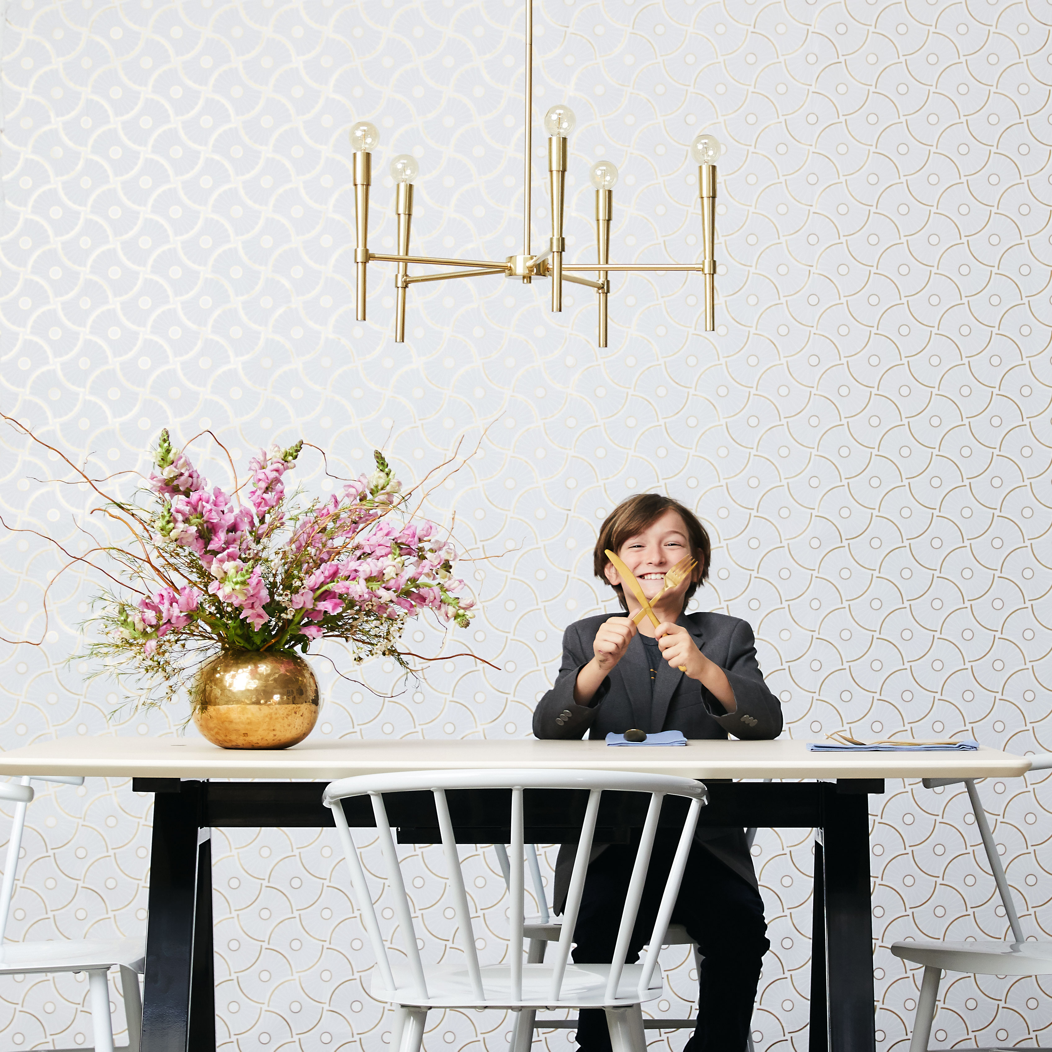 Novogratz by Tempaper Wheels Peel and Stick Removable Wallpaper