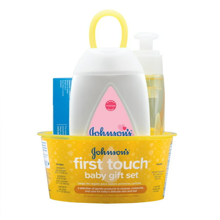 Johnsons First Touch Baby Gift Set