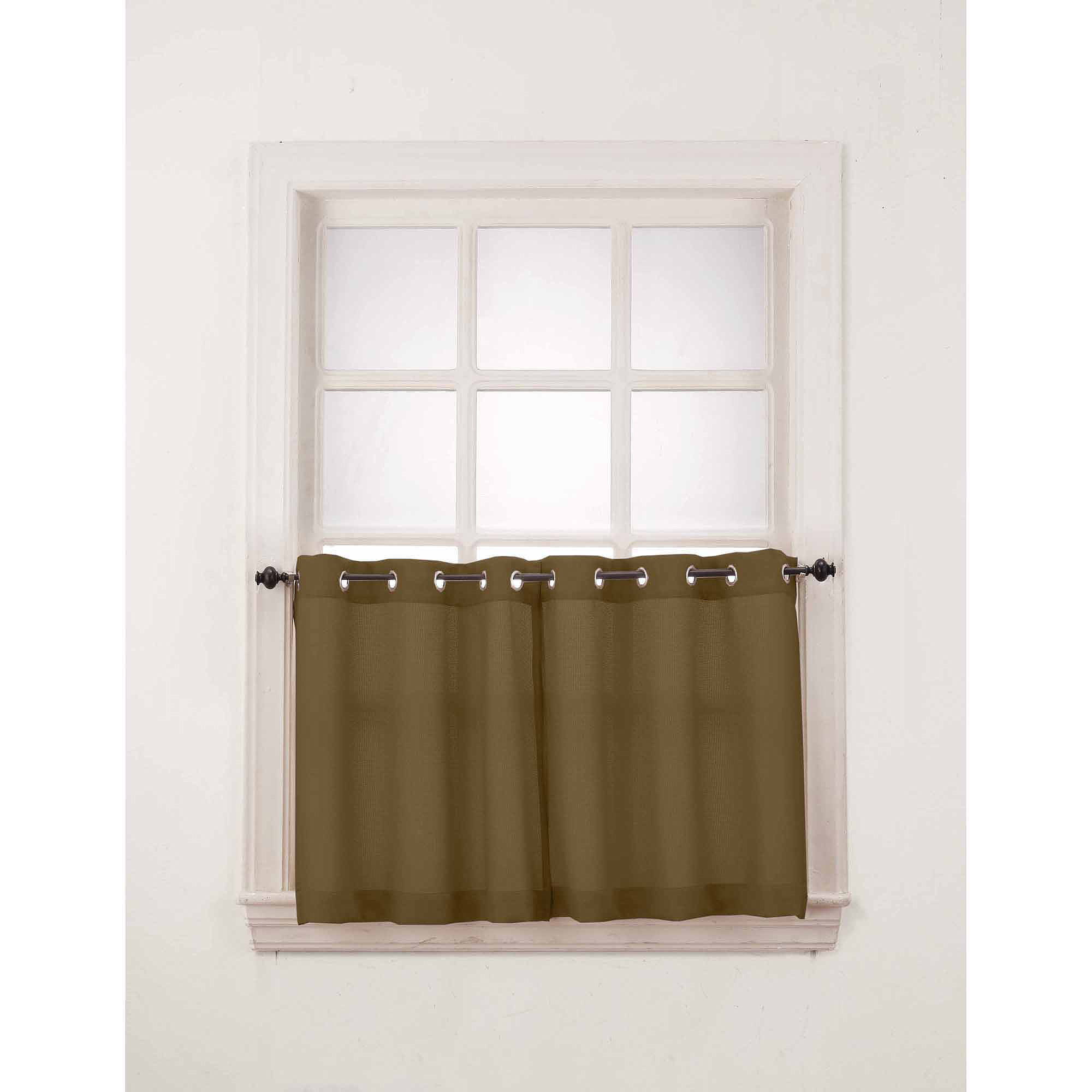 No. 918 Montego Window Curtain Valance/Kitchen Curtains, Set of 2 ...