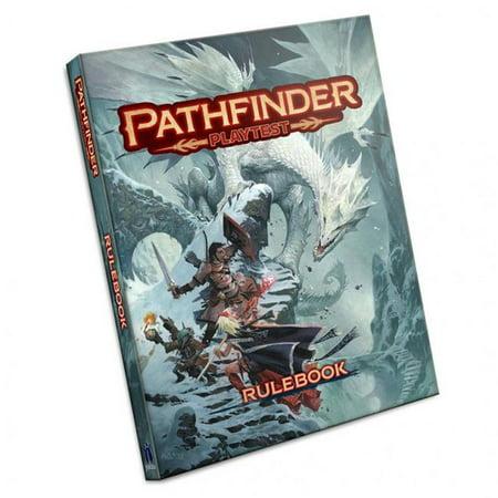Paizo PZO2100-H Pathfinder Playtest Rulebook HC Roleplaying Game - image 1 of 1