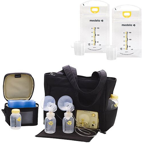 Medela Pump with Tote & Your Choice Bonus Breastmilk Bags