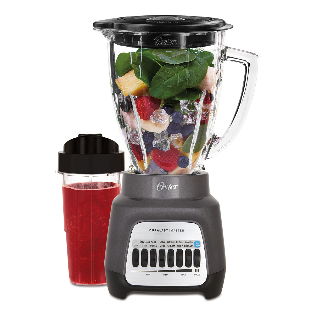 Oster 7-Speed Nutrition On The Go Blender, Black (BLSTJJ-GPB-000)