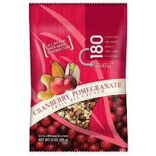 180 Snacks, Cranberry Pomegranate Trail Mix Crunch, 48 Ct