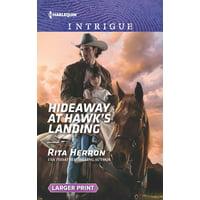 Badge of Justice: Hideaway at Hawk's Landing (Paperback)(Large Print)