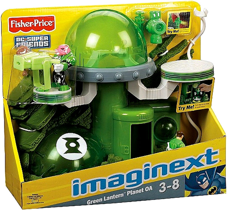 Fisher-Price Imaginext Green Lantern Play Set
