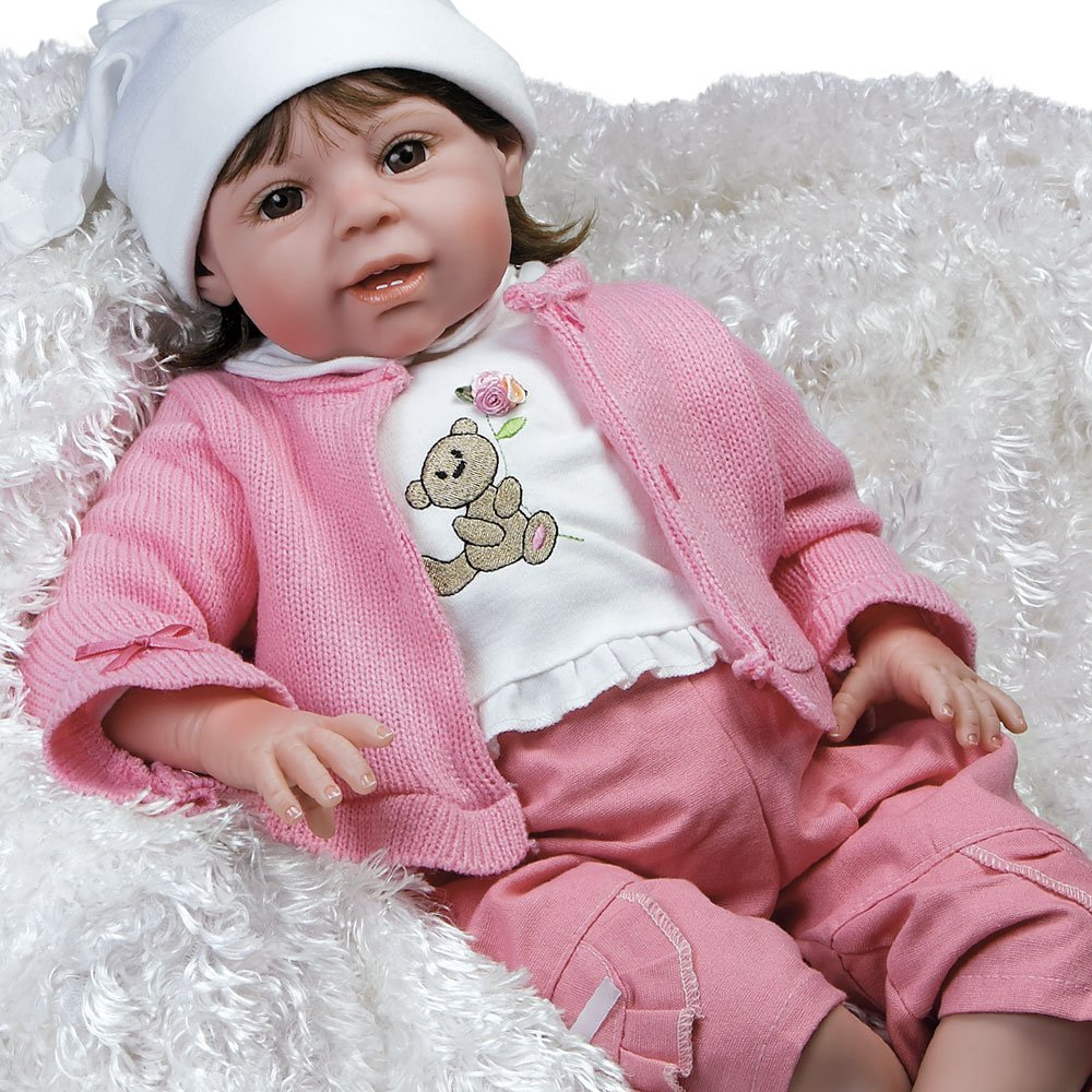 Paradise Galleries Lifelike Realistic Soft Vinyl Weighted...