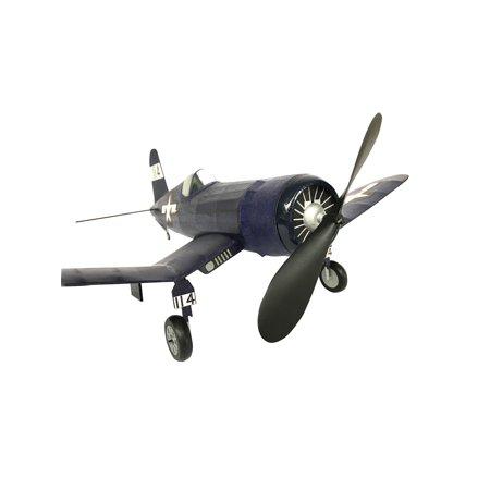 Vintage Model Co. USMC Corsair Balsa Model Airplane Kit - Rubber Band Powered